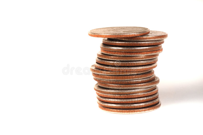 Quarters stock images