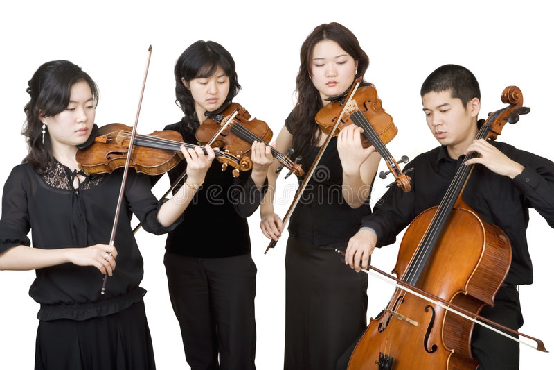 Quartet 3 image libre de droits