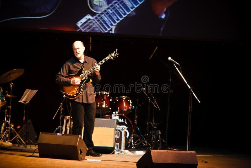 Quartet de John Scofield, festival 2010 de ZaJazz photographie stock libre de droits