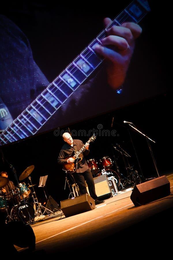 Quartet de John Scofield, festival 2010 de ZaJazz photo stock