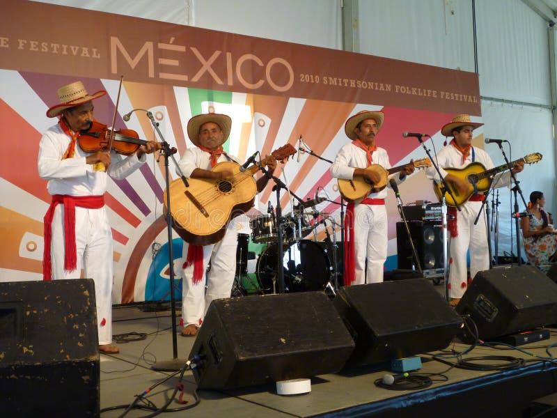 Quartet mexicain de musique photographie stock libre de droits
