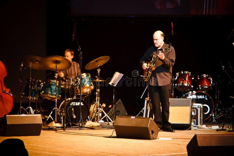 Quartett John-Scofield, ZaJazz Festival 2010 lizenzfreie stockfotografie