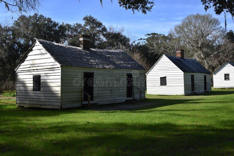 Quarti dello schiavo in Carolina del Sud immagini stock