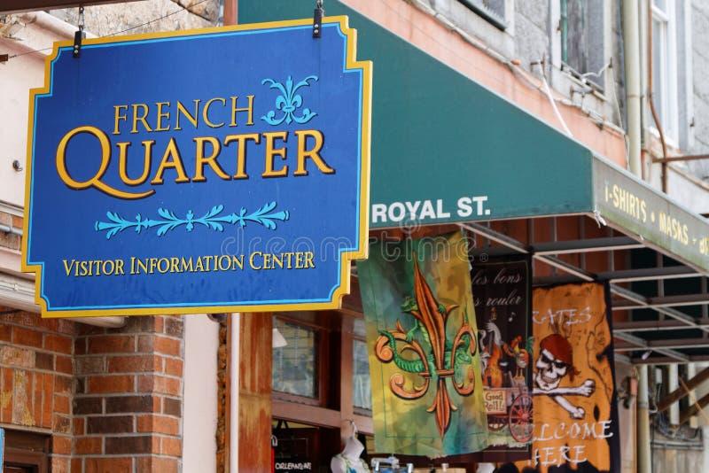 Quartier français de la Nouvelle-Orléans photos stock