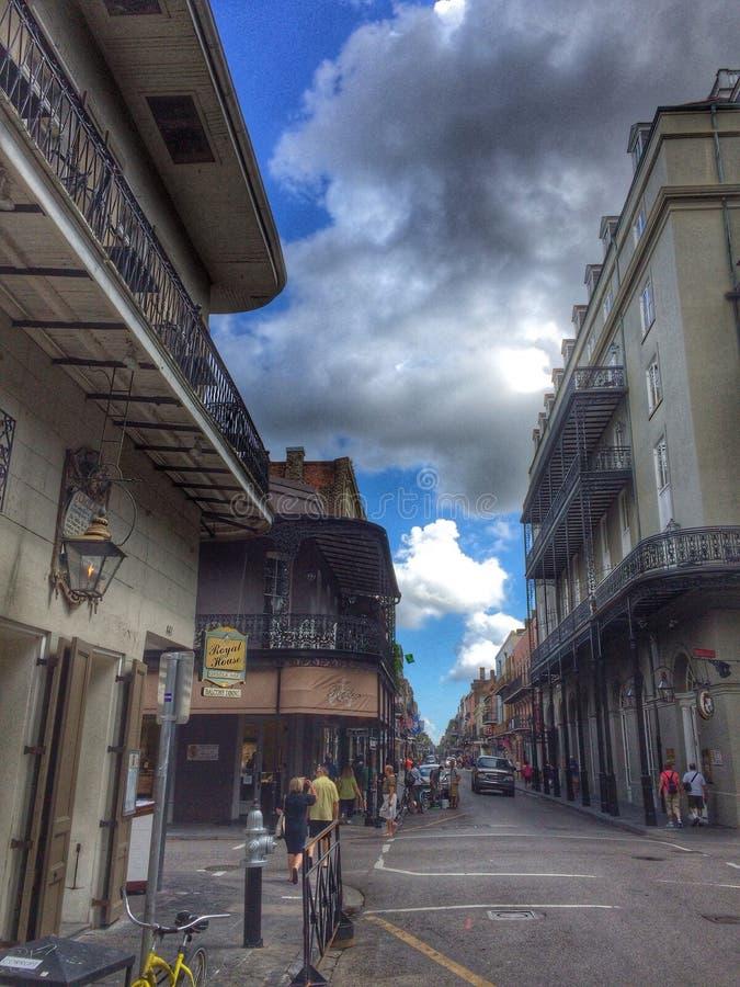 Quartier français de rue royale photos stock