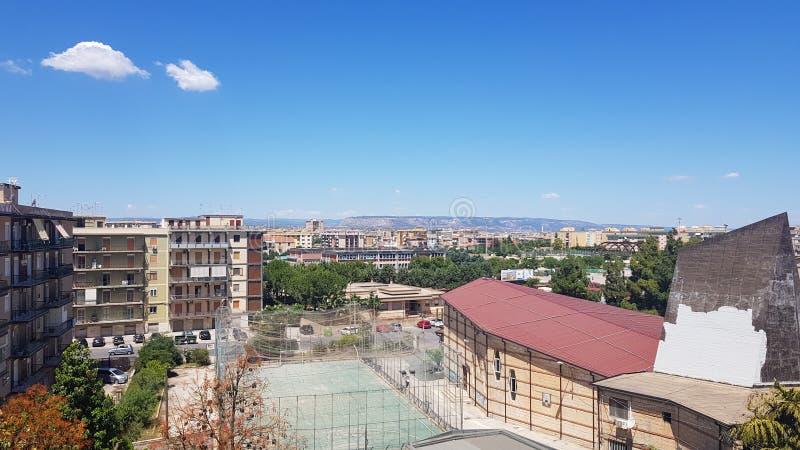 Quartiere Bosco Minniti στοκ φωτογραφία