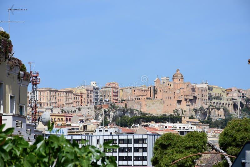 Quartiere Castello, Κάλιαρι, Σαρδηνία, Ιταλία στοκ φωτογραφία