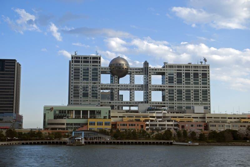 Quartiere generale della televisione di Fuji, Tokyo, Giappone fotografia stock