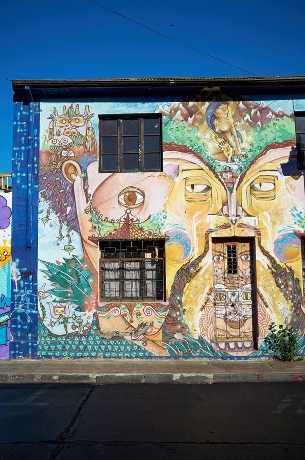 Quartiere ispanico Bellavista fotografia stock libera da diritti