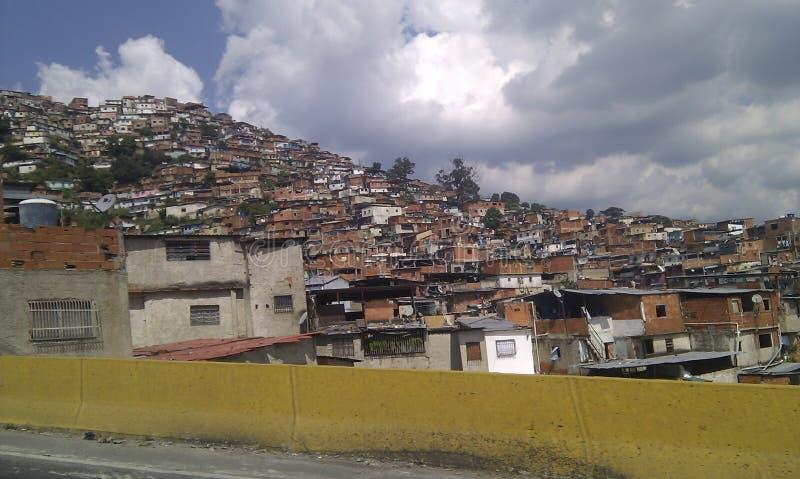 Quartieri ispanici Venezuela di Caracas fotografie stock libere da diritti