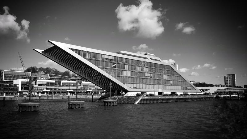 Quartiers des docks Hambourg photographie stock