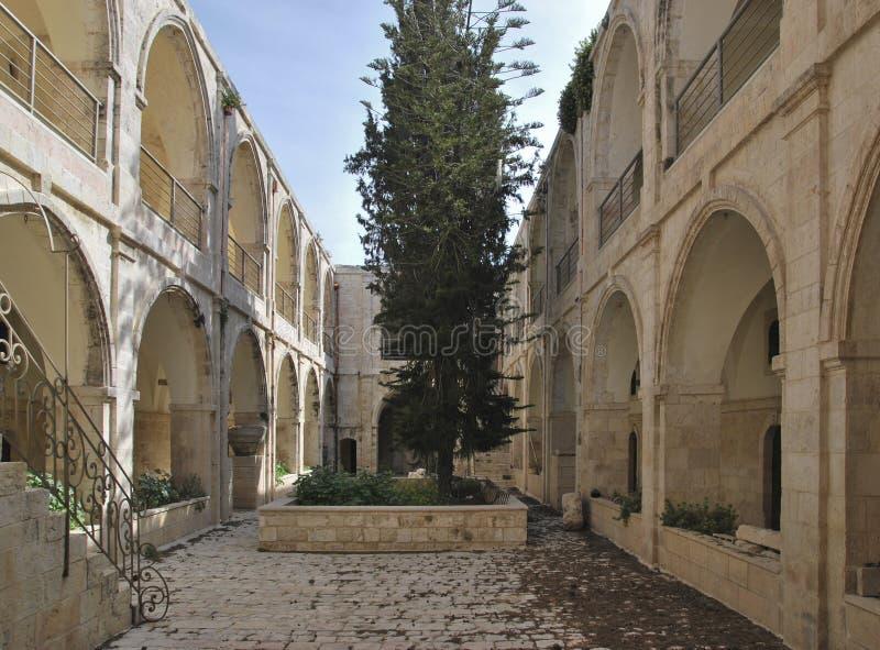 Quarto arménio em Jerusalem imagens de stock