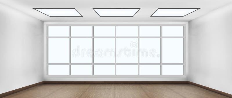 Quarto branco claro foto de stock royalty free