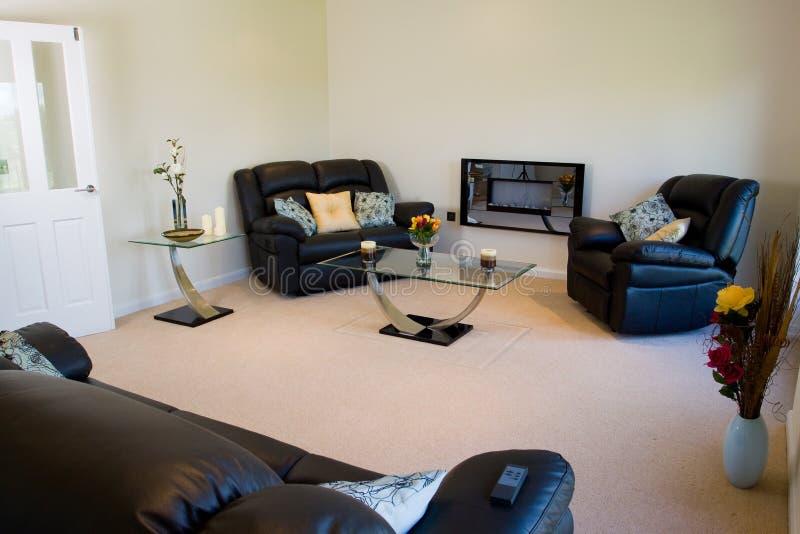Quarto de assento da sala de estar fotografia de stock royalty free