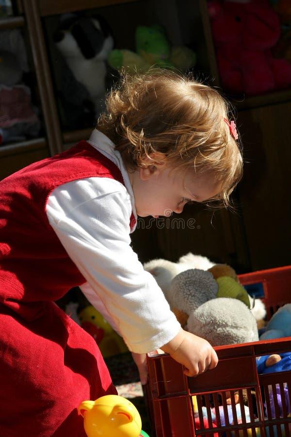 Quarto de criança ensolarado foto de stock royalty free
