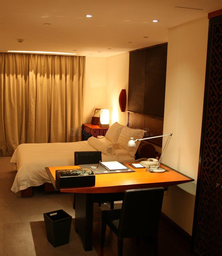 Quarto de hotel 3 foto de stock