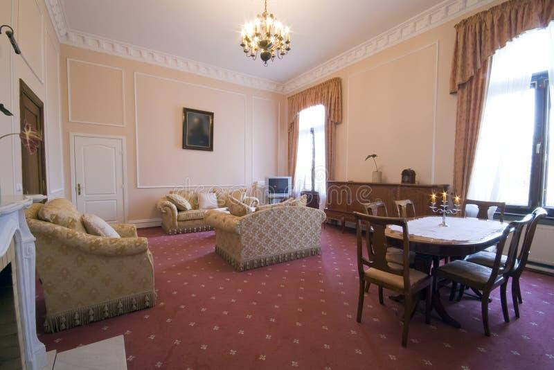 Quarto de hotel clássico imagem de stock royalty free