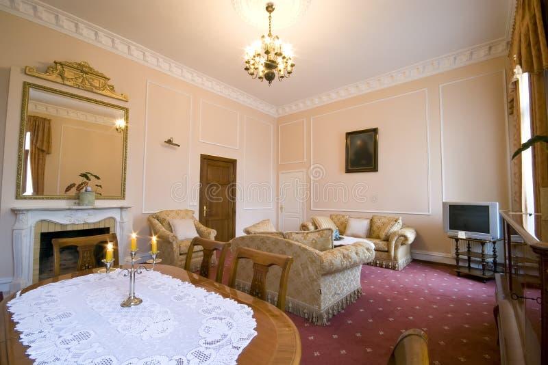 Quarto de hotel clássico imagens de stock royalty free