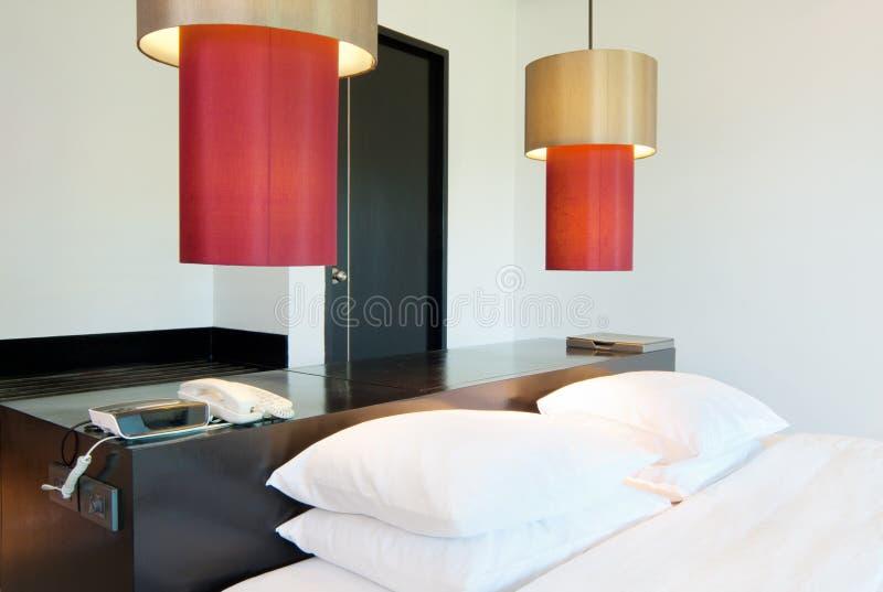 Quarto de hotel de luxe imagens de stock