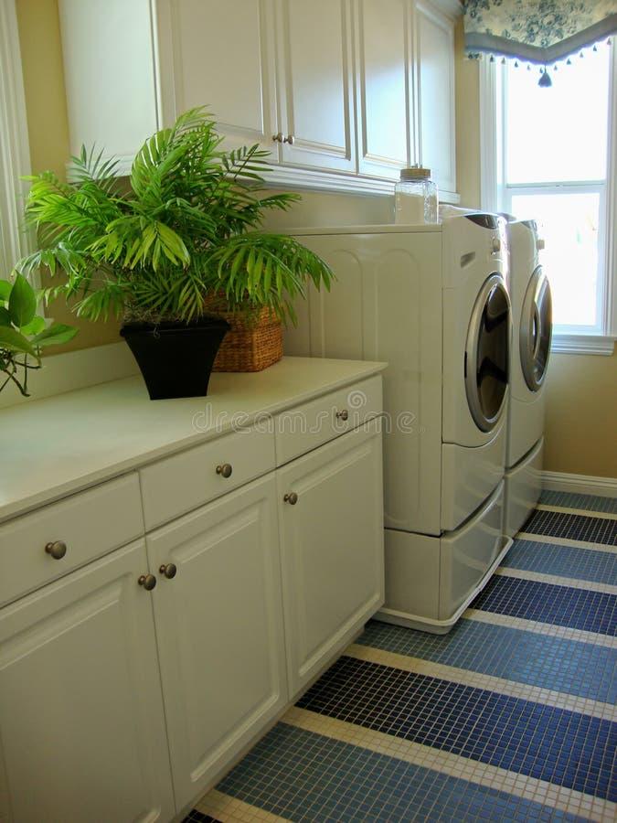 Quarto de lavanderia imagens de stock
