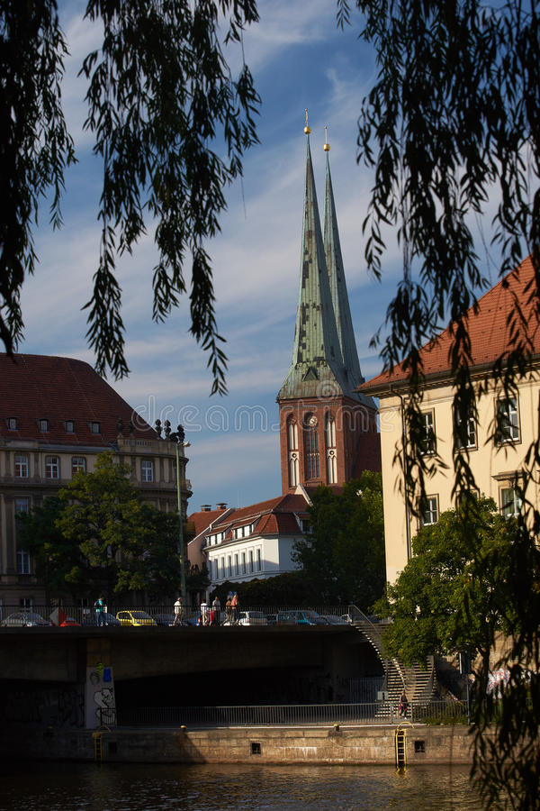 Quarto de Nikolay, Berlim fotografia de stock royalty free