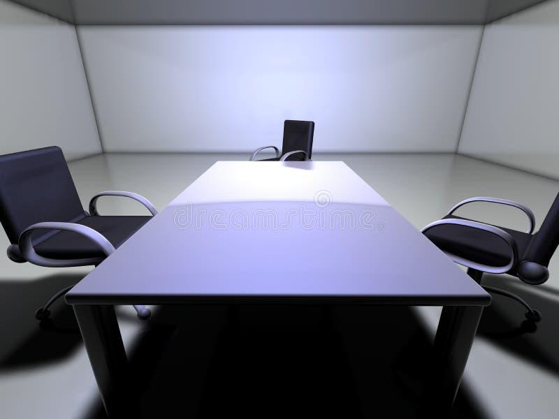 Quarto de reunião 1 ilustração do vetor