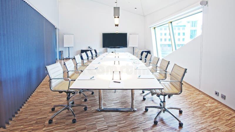 Quarto de reunião imagem de stock