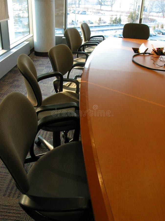Quarto de reunião do negócio fotografia de stock