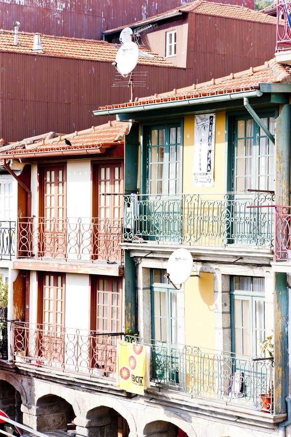 quarto de Ribeira, Porto, Portugal fotografia de stock royalty free