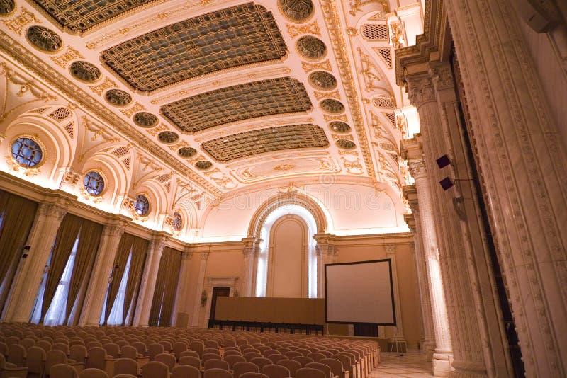 Quarto de seminário luxuoso foto de stock royalty free