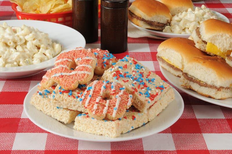 Quarto dei biscotti di luglio immagine stock libera da diritti