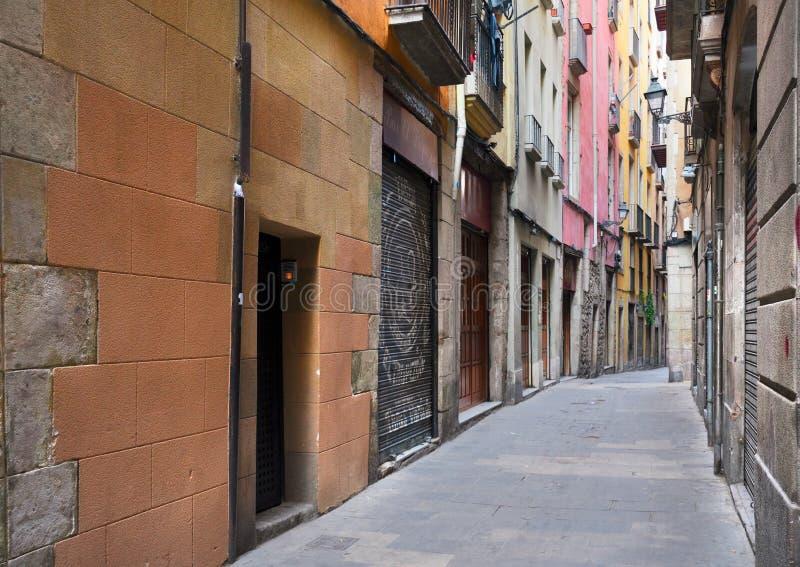 Quarto di Gotic di Barcellona immagini stock libere da diritti