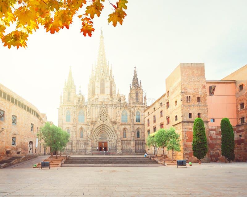 Quarto di Gotic di Barcellona immagini stock