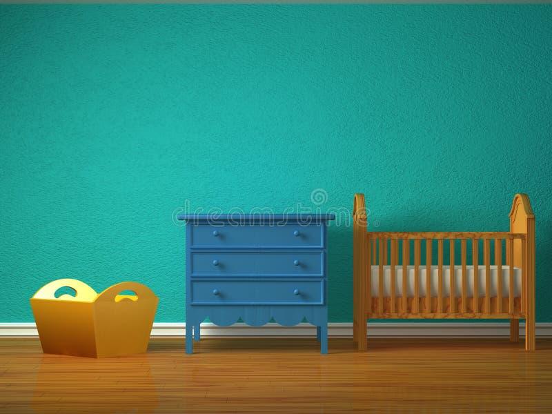 Quarto do bebê ilustração do vetor