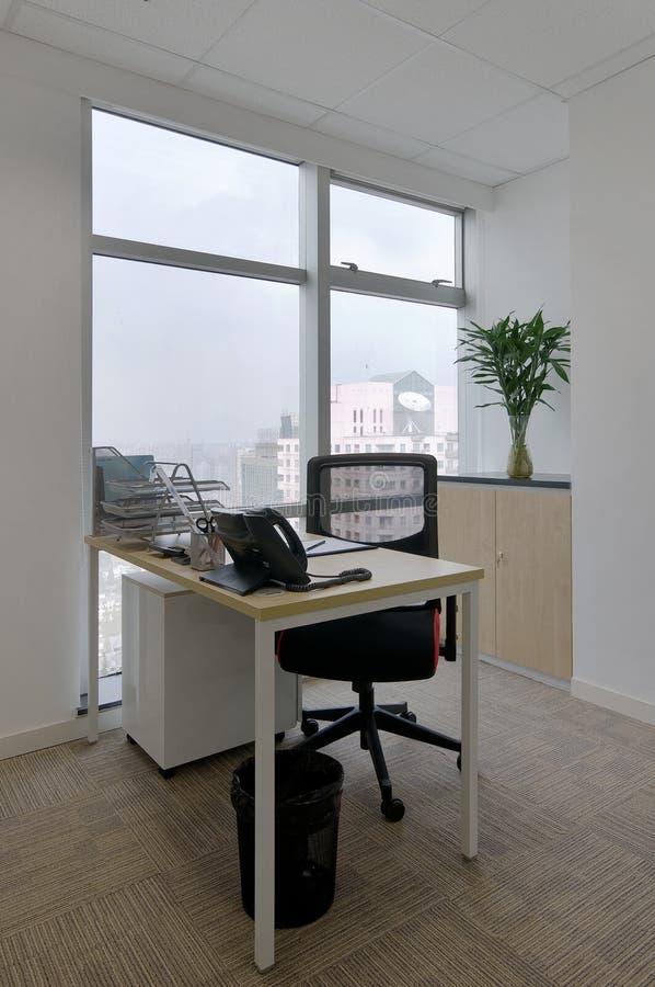 Quarto do escritório imagem de stock