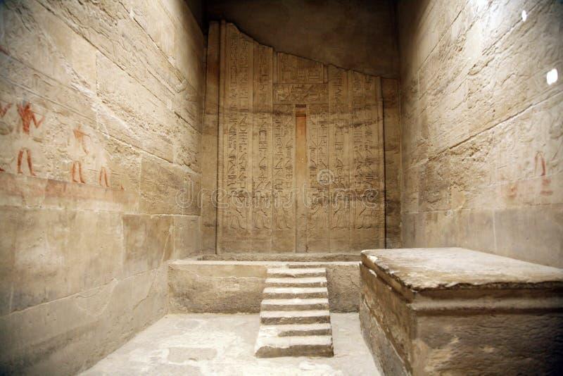 Quarto egípcio imagem de stock