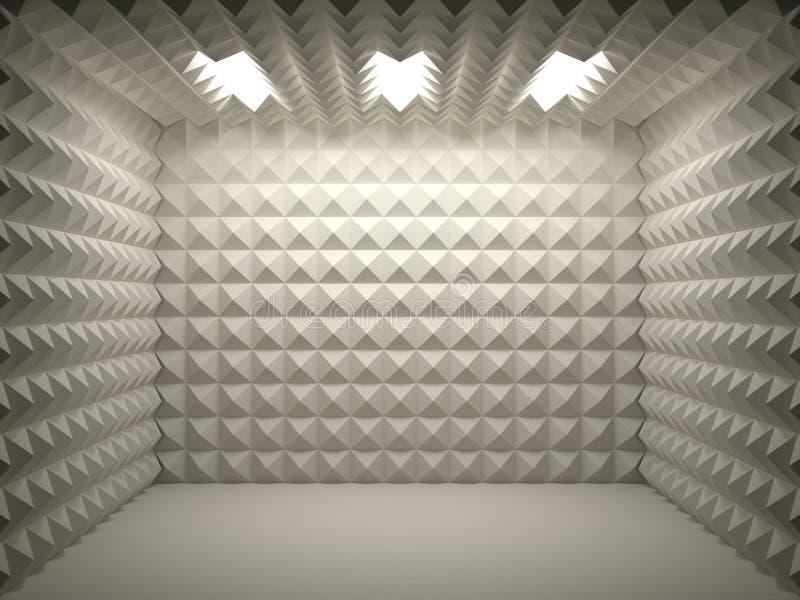 Quarto Soundproof ilustração royalty free