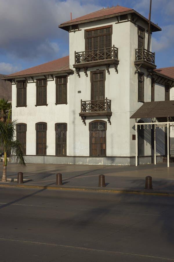 Quarto velho de Antofagasta, o Chile imagens de stock