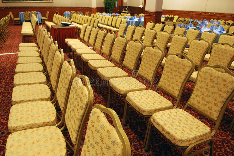 Quartos de reunião com cadeira imagem de stock royalty free
