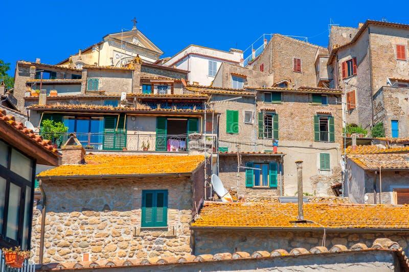 Quartos históricos da cidade italiana velha imagens de stock royalty free