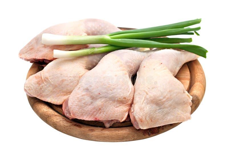 Quarts de patte de poulet images stock
