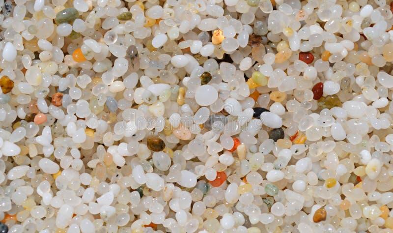 Quarts sand in Sardinia stock images
