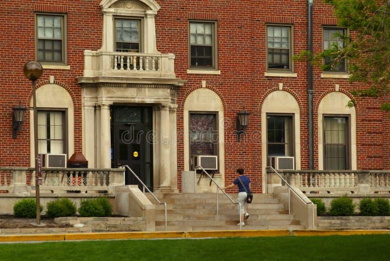 Quarts vivants de campus image stock