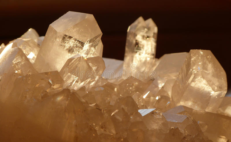 Download Quartz crystals stock photo. Image of light, quartz, gemstone - 29003080
