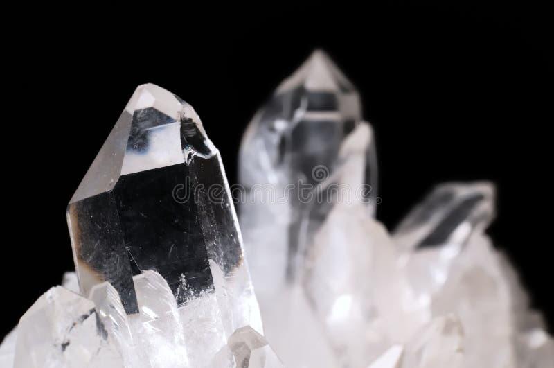 quartz de cristaux photo libre de droits