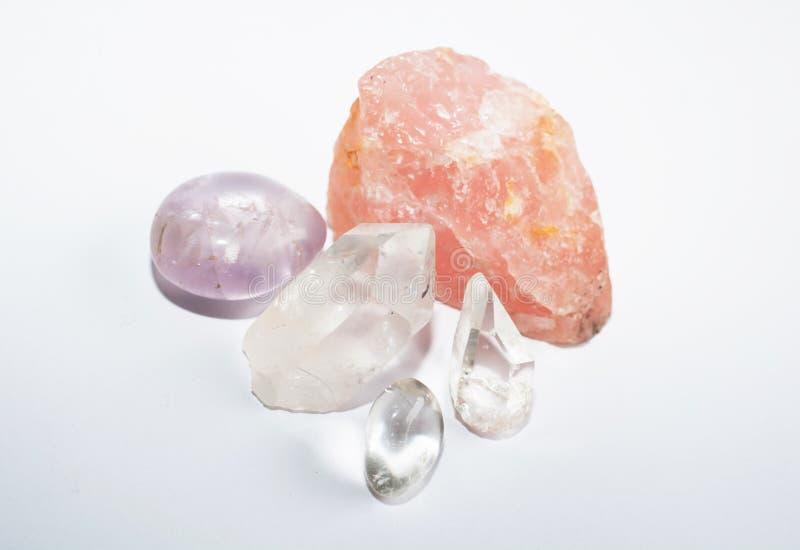 Quartz rocks stock photo
