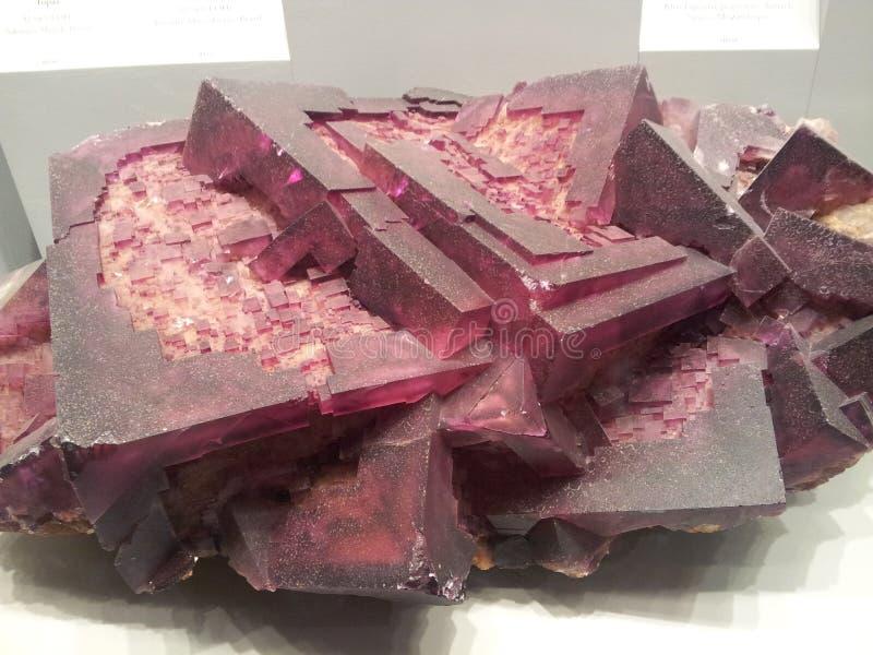 Quarz-Mineral lizenzfreies stockfoto