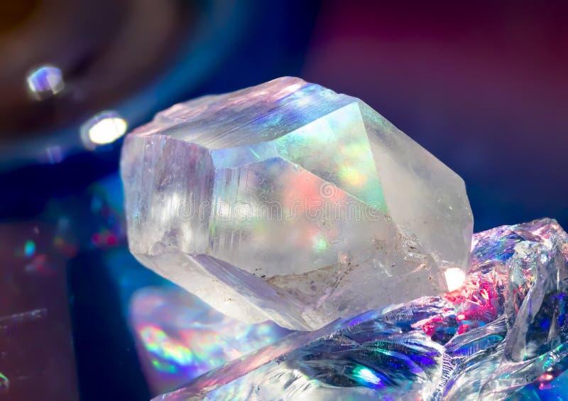 Quarzo Crystal Rainbows fotografia stock