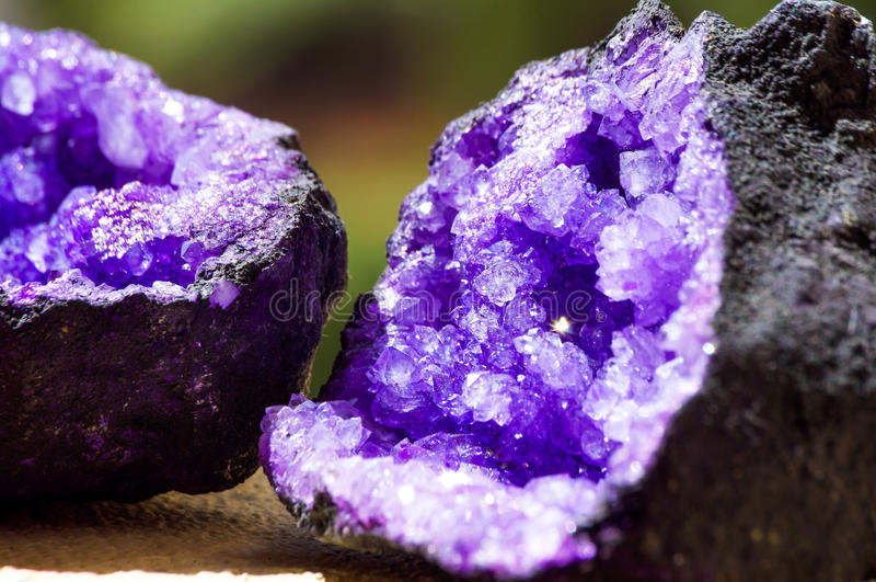 Quarzo minerale immagini stock libere da diritti