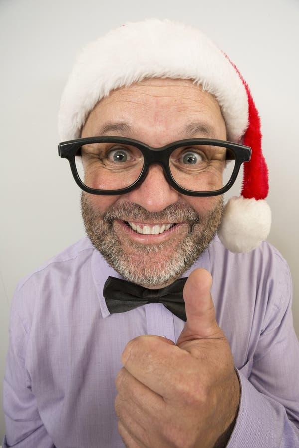 Quase aqui expressões do Natal imagem de stock